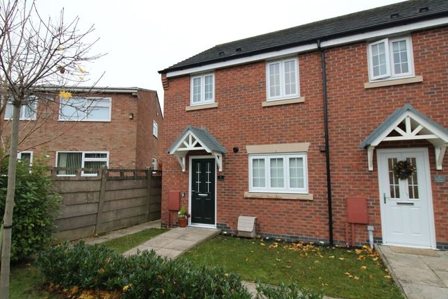 3 bed terraced house for sale in Rowan Close, Blaby, Leicester LE8