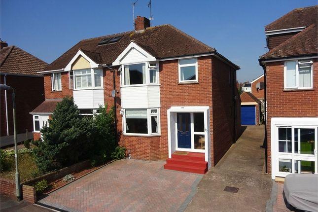 Thumbnail Semi-detached house for sale in Madison Avenue, Heavitree, Exeter, Devon