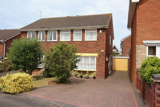 Thumbnail Semi-detached house for sale in Rokewood Close, Kingswinford