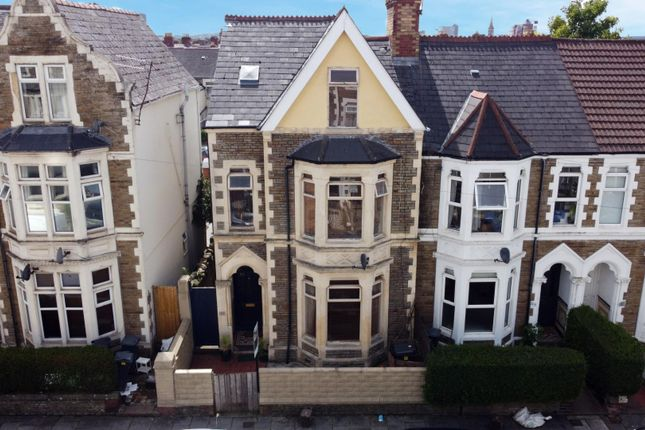 Thumbnail End terrace house for sale in Claude Road, Roath, Cardiff