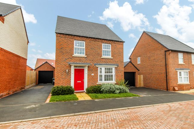 Thumbnail Detached house for sale in Jakeman Way, Warwick