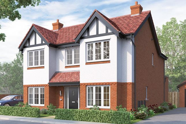 "Thumbnail Detached house for sale in ""The Tetbury"" at Russell Drive, Wollaton, Nottingham"