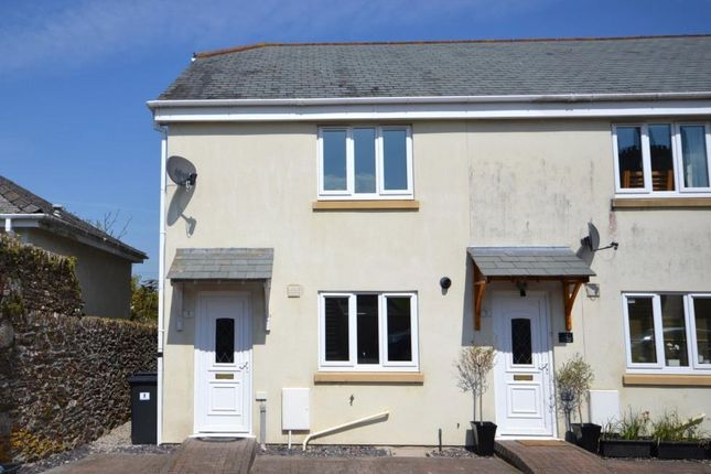 Thumbnail End terrace house to rent in Pascoe Place, Zaggy Lane, Callington, Cornwall