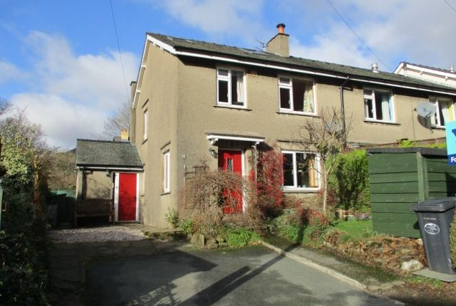 Thumbnail End terrace house for sale in Benfield, Grasmere, Ambleside