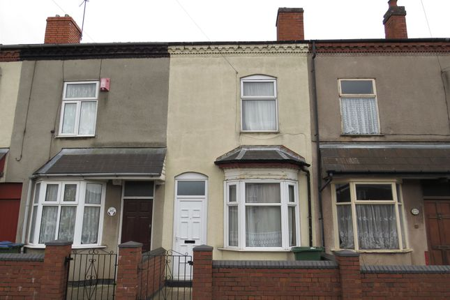 Thumbnail Terraced house for sale in Shireland Road, Edgbaston, Birmingham