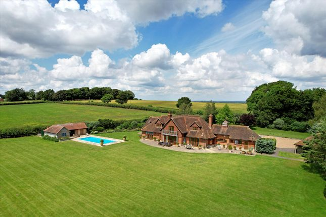 Thumbnail Detached house for sale in Dippenhall, Farnham, Hampshire
