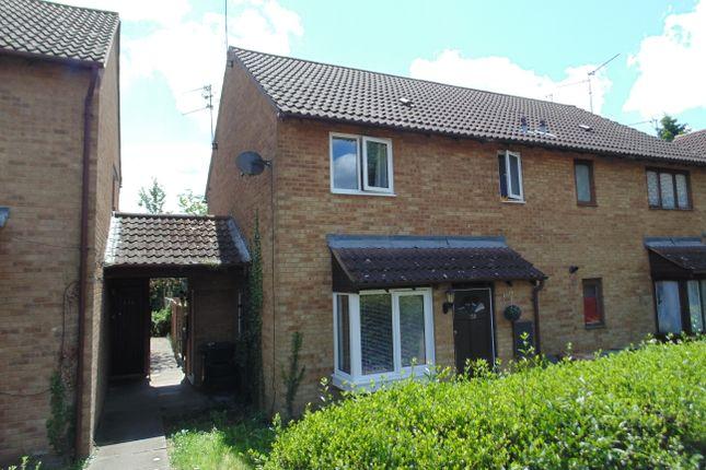1 bed terraced house to rent in Senwick Drive, Wellingborough NN8