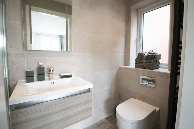 Guest Ensuite of Mere View, Astbury Mere, Congleton, Cheshire CW12