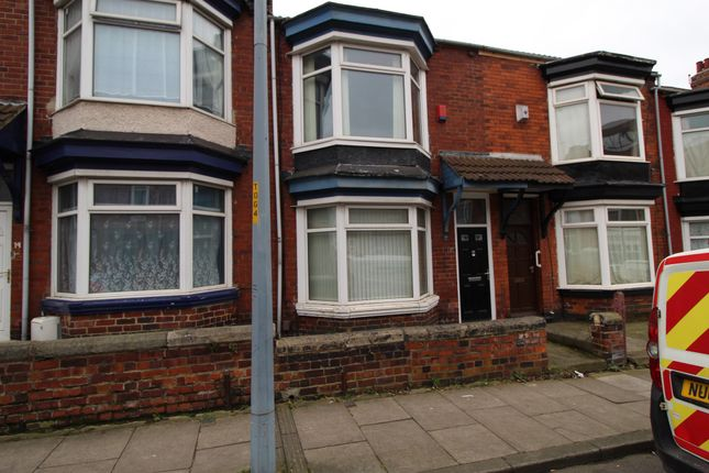 Thumbnail Shared accommodation to rent in Wellesley Road, Middlesbrough, Cleveland