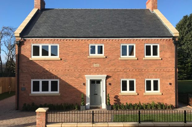 Thumbnail Detached house for sale in Overton House, Overton