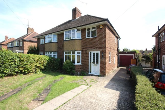 Thumbnail Semi-detached house to rent in Norton Road, Letchworth Garden City