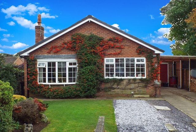 Thumbnail Bungalow for sale in Whitwell Drive, Melmerby, Ripon, North Yorkshire