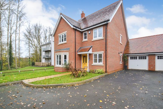 Thumbnail Detached house for sale in Turvin Crescent, Gilston, Harlow, Essex