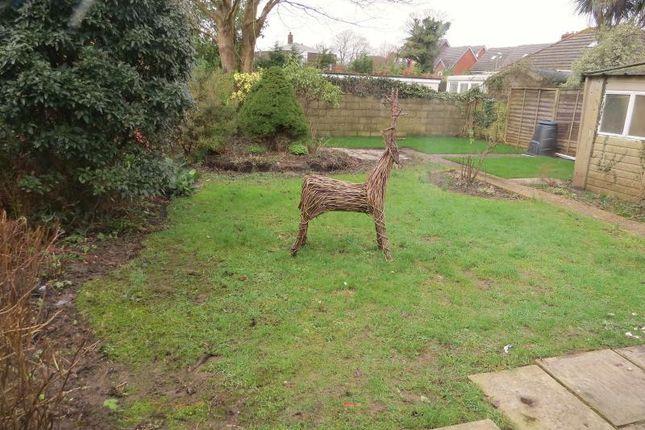 Rear Garden of Hobart Road, New Milton BH25