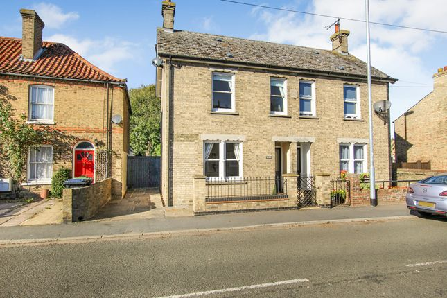 Thumbnail Semi-detached house for sale in Hall Street, Soham, Ely
