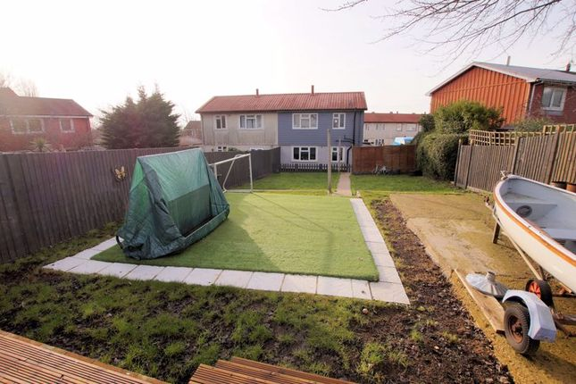 Rear Garden of Birdlip Road, Cosham, Portsmouth PO6