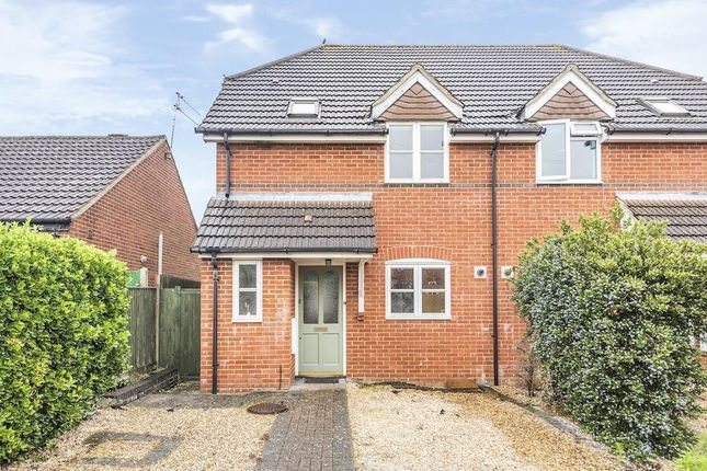 Semi-detached house for sale in Halstead Close, Woodley, Reading