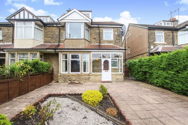Thumbnail Semi-detached house for sale in Grove Road, Shipley