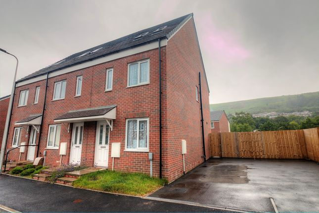 Thumbnail End terrace house for sale in Ffordd Y Glowyr, Mountain Ash