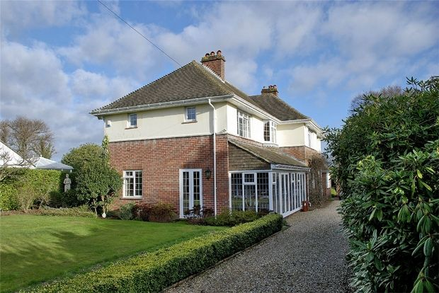 Thumbnail Detached house for sale in Barrs Wood Road, New Milton