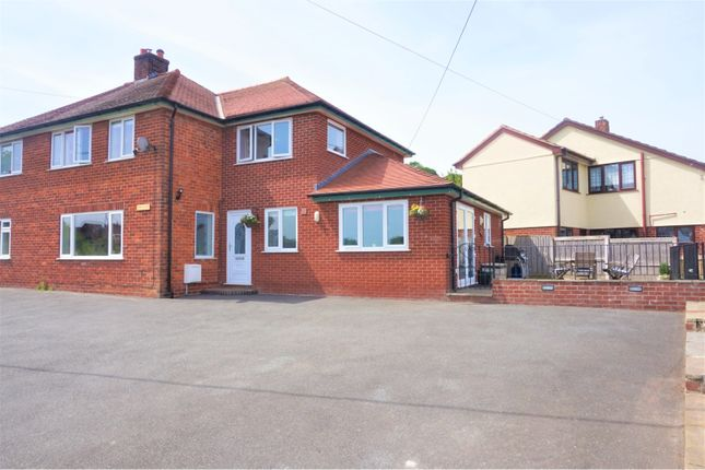 Thumbnail Semi-detached house for sale in Milwr Road, Holywell
