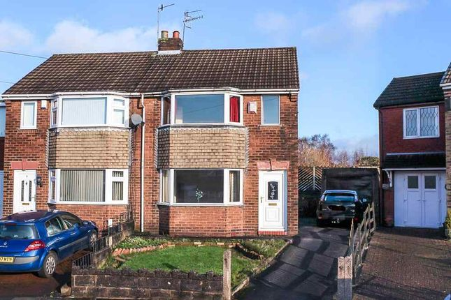 Thumbnail Semi-detached house for sale in Clandon Avenue, Tunstall, Stoke-On-Trent