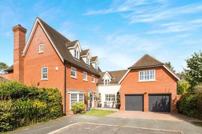 Thumbnail Detached house for sale in Kingswood Avenue, Weston, Crewe, Cheshire
