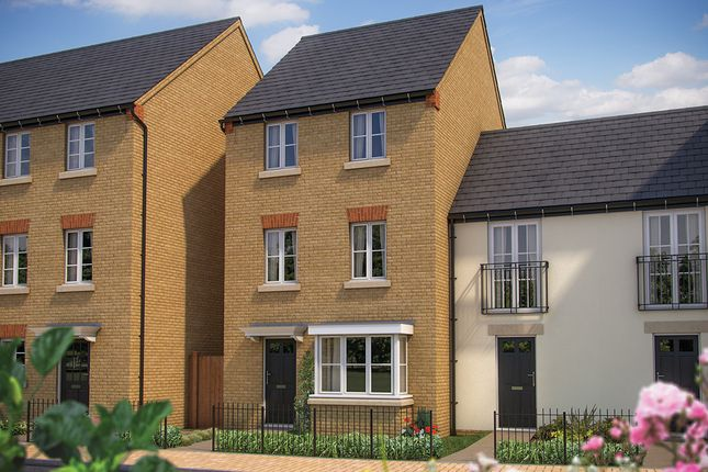 "Thumbnail Terraced house for sale in ""The Eaton"" at Whitelands Way, Bicester"