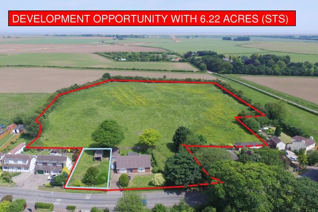 Thumbnail Equestrian property for sale in Churchill Gardens, Lock Road, North Cotes, Grimsby