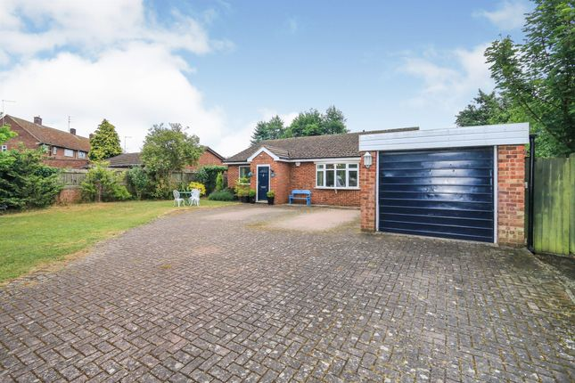 Thumbnail Detached bungalow for sale in Winding Way, Thrapston, Kettering