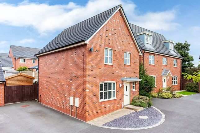 3 bed detached house for sale in Sweet Briar Court, Astbury, Congleton CW12