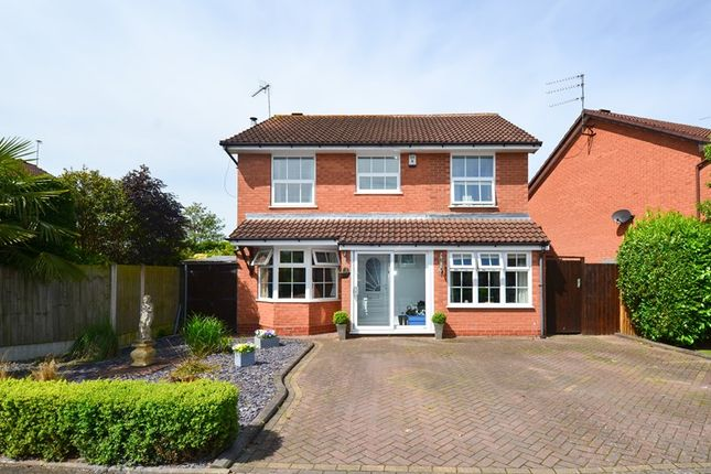 Thumbnail Detached house for sale in Badger Way, Blackwell, Bromsgrove