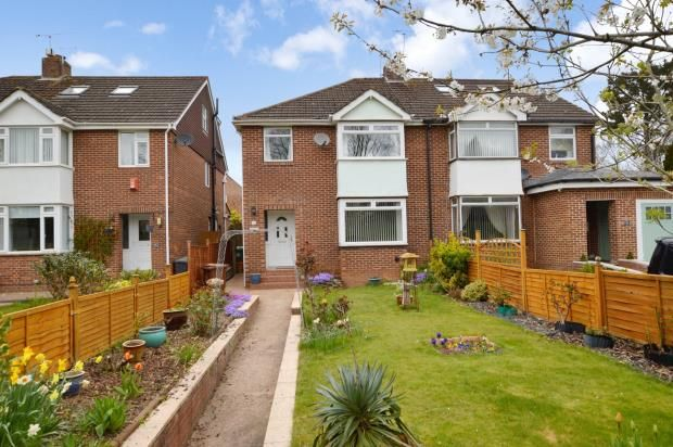3 bed semi-detached house for sale in Honiton Road, Heavitree, Exeter, Devon EX1