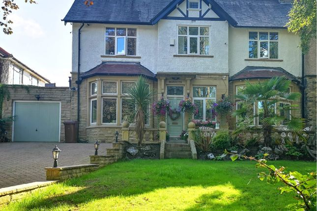 Thumbnail Semi-detached house for sale in Ightenhill Park Lane, Burnley