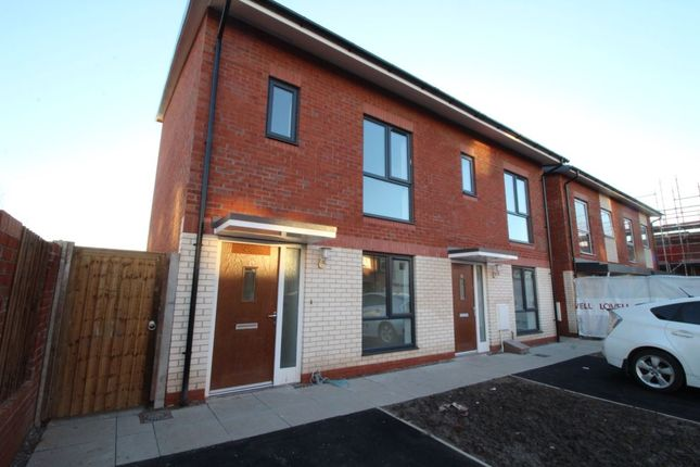 Thumbnail Semi-detached house to rent in Commonwealth Avenue, Manchester