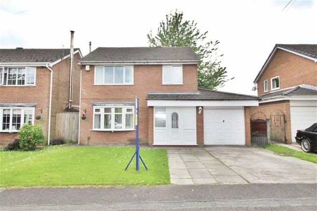 Thumbnail Detached house for sale in St. Matthews Close, Pemberton, Wigan
