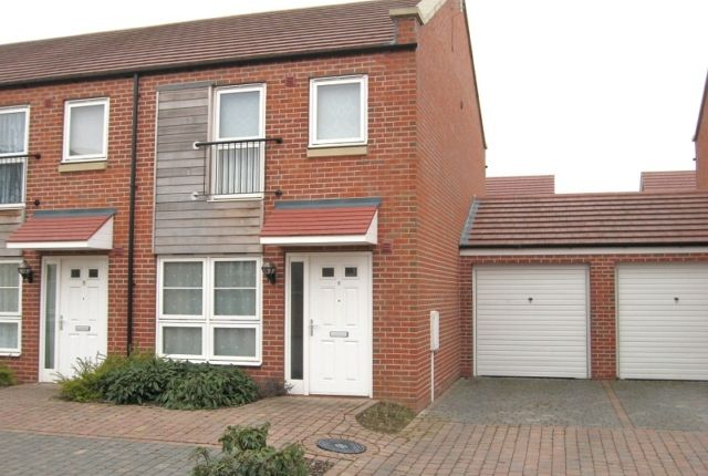 Thumbnail End terrace house to rent in Berberis Way, Freshney Green, Grimsby