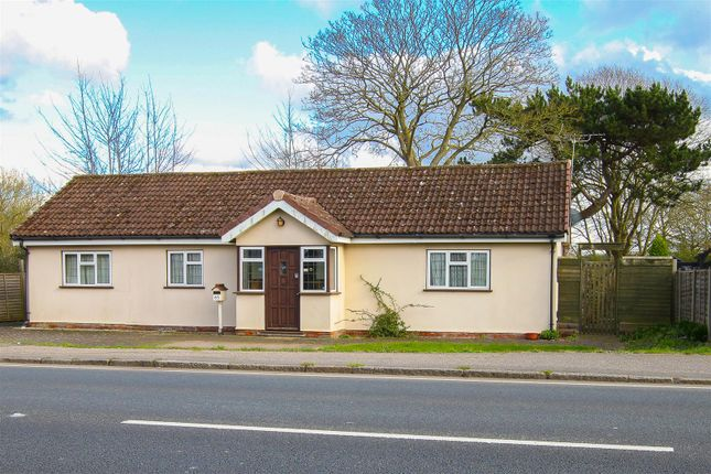 Thumbnail Detached bungalow for sale in London Road, Stanford Rivers, Ongar