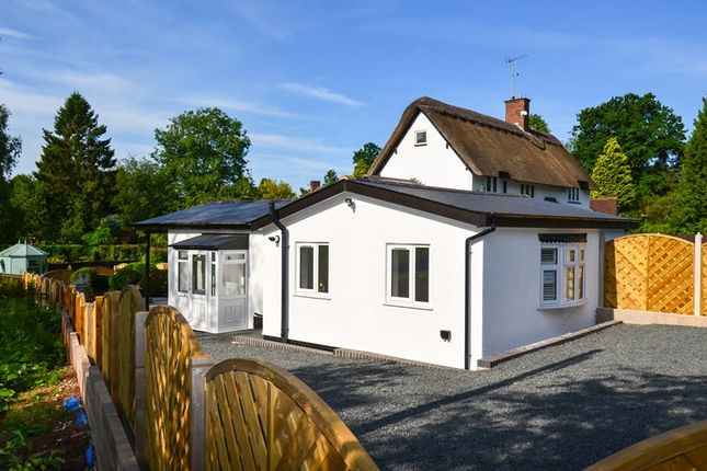 Thumbnail Detached bungalow for sale in Bittell Road, Barnt Green, Birmingham