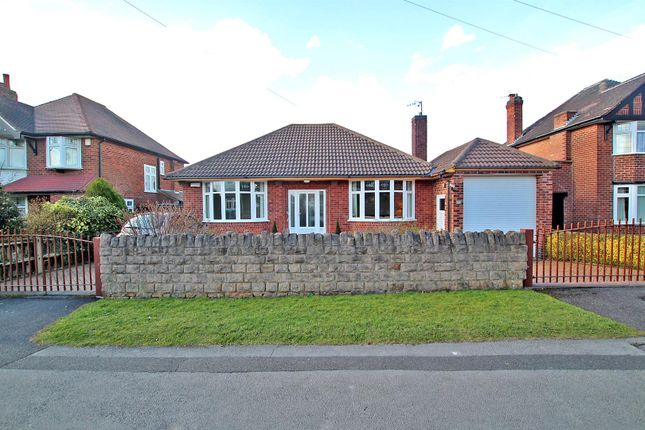 Thumbnail Detached bungalow for sale in Sandfield Road, Arnold, Nottingham