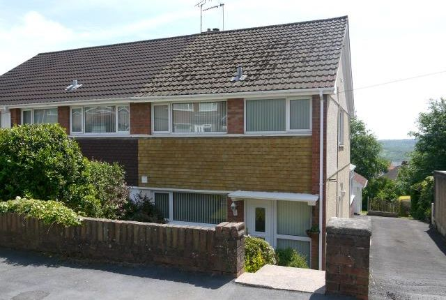 Thumbnail Semi-detached house to rent in Landor Avenue, Killay, Swansea