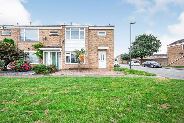 Thumbnail End terrace house for sale in Harvest Hill Close, Sydenham, Leamington Spa