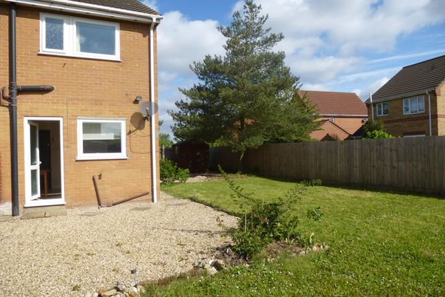 Thumbnail Semi-detached house to rent in Marshland Drive, Holbeach, Spalding