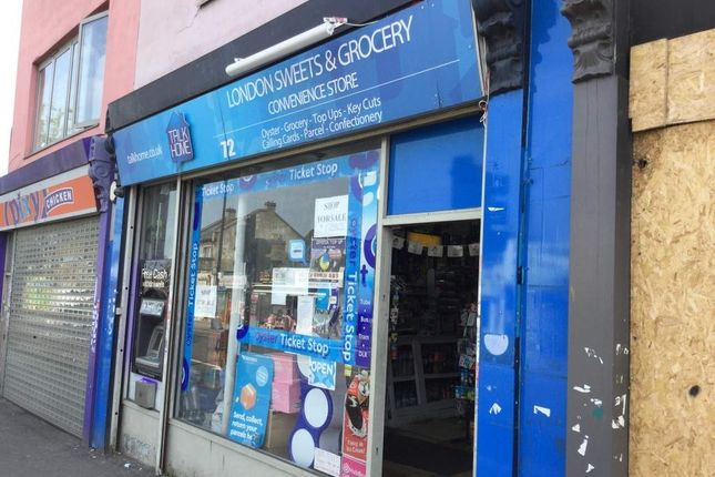 Thumbnail Retail premises for sale in Railway Station Bridge, Woodgrange Road, London
