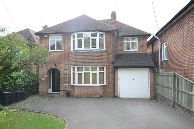 Thumbnail Detached house to rent in Silverdale Road, Earley, Reading