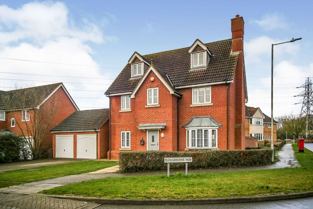 Thumbnail Detached house for sale in Ploughmans Way, Ashford