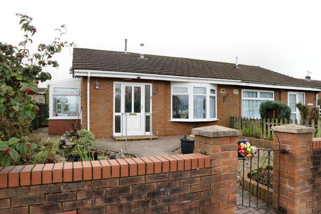 Thumbnail Semi-detached bungalow for sale in St Fagans Grove, Castle Park, Merthyr Tydfil