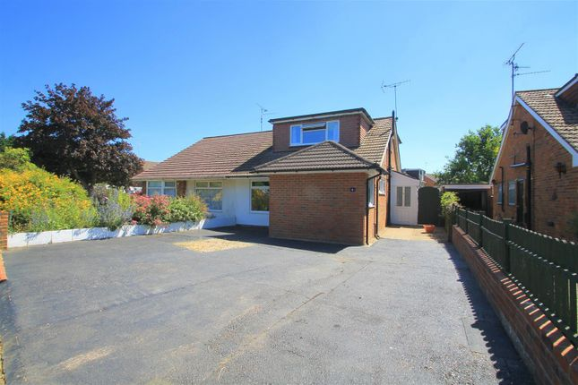 Thumbnail Semi-detached bungalow to rent in Deacons Way, Upper Beeding, Steyning