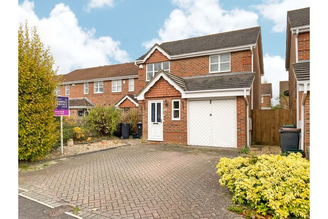 Thumbnail Detached house for sale in Hussar Close, Christchurch