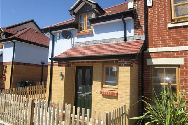 Thumbnail End terrace house for sale in Sedge Place, Weymouth